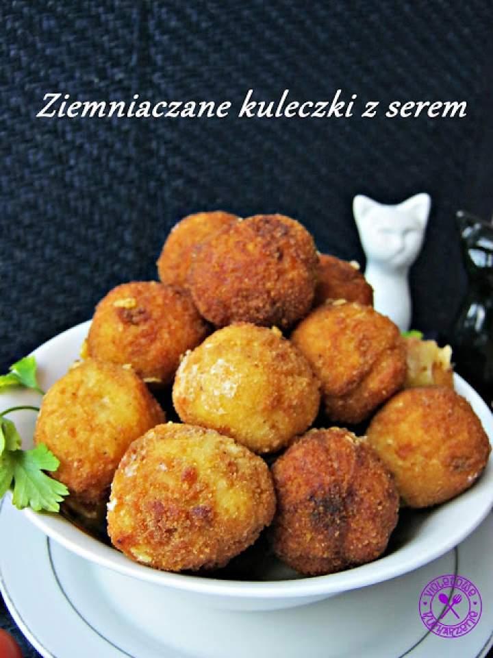 Ziemniaczane kuleczki z serem