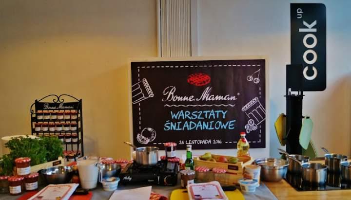 Śniadaniowe warsztaty z Bonne Maman