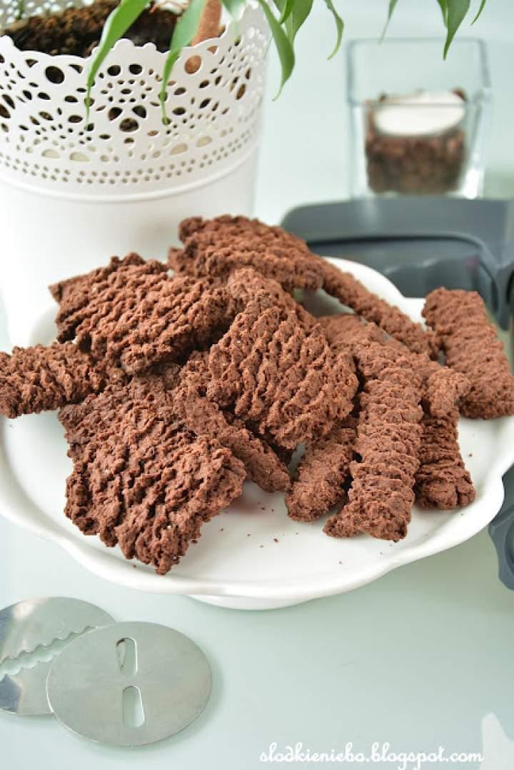 Kakaowe ciasteczka z maszynki – Najlepsze !