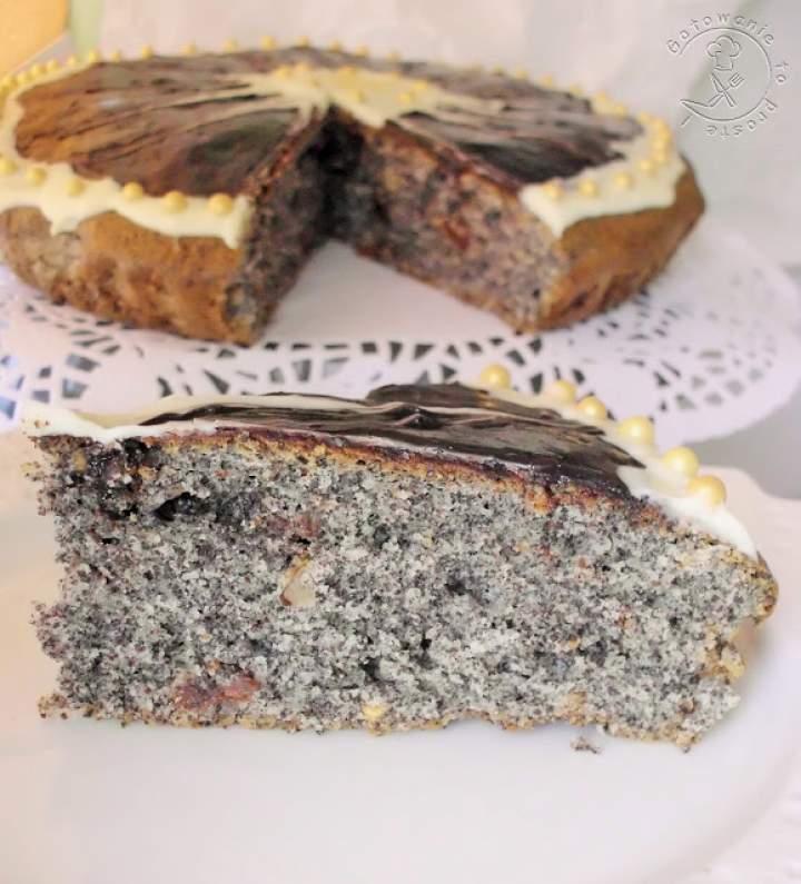 Ekspresowe Ciasto Makowe Z Bakaliami