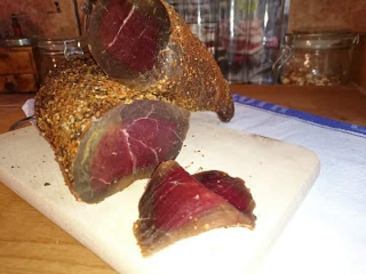 wołowina z pończochy – domowa wędlina z łopatki