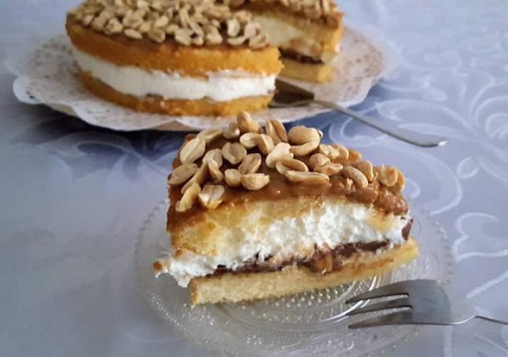 Ciasto Orzechowa Nutka