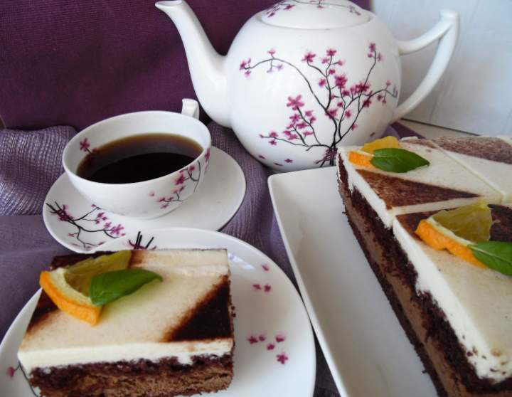 Ciasto Czekoladowo- śmietankowa Finezja