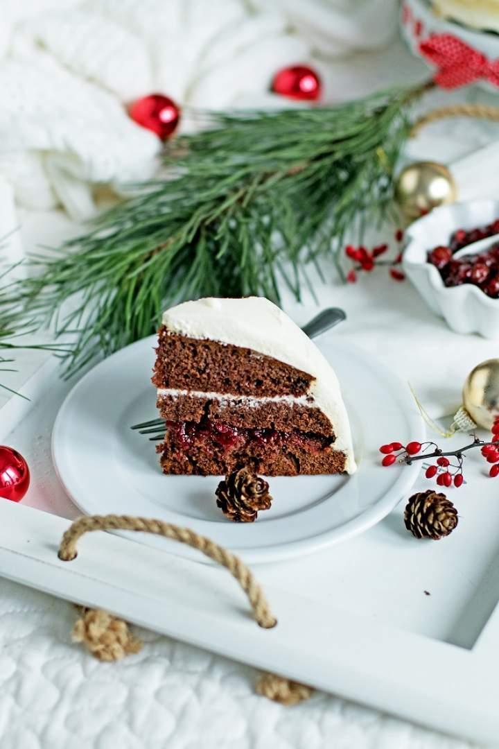 Rewelacyjny tort piernikowy