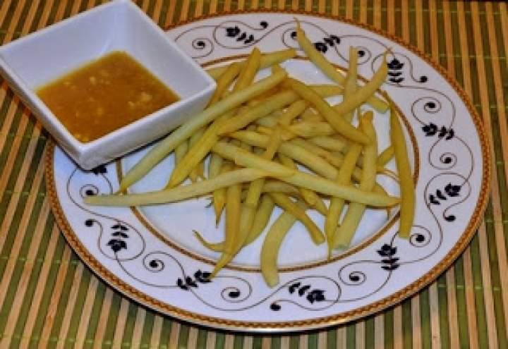 Fasolka szparagowa z sosem vinegret – sos do wszystkiego