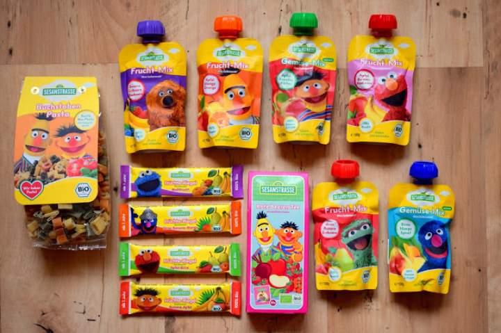 Ekologiczna żywność dla dzieci od Sesam Strasse :)