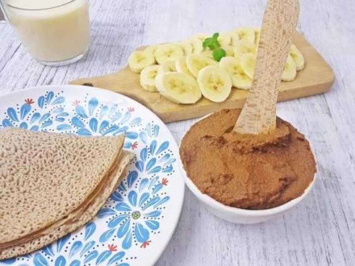Cieciorella – czekoladowa pasta z ciecierzycy