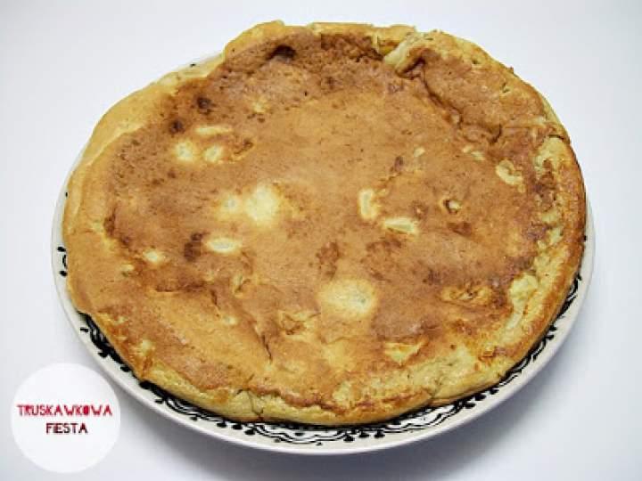 Amarantusowy omlet z jabłkiem