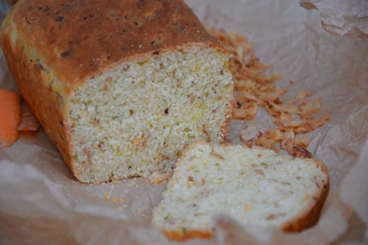 Chleb jarzynowy z prażoną cebulką