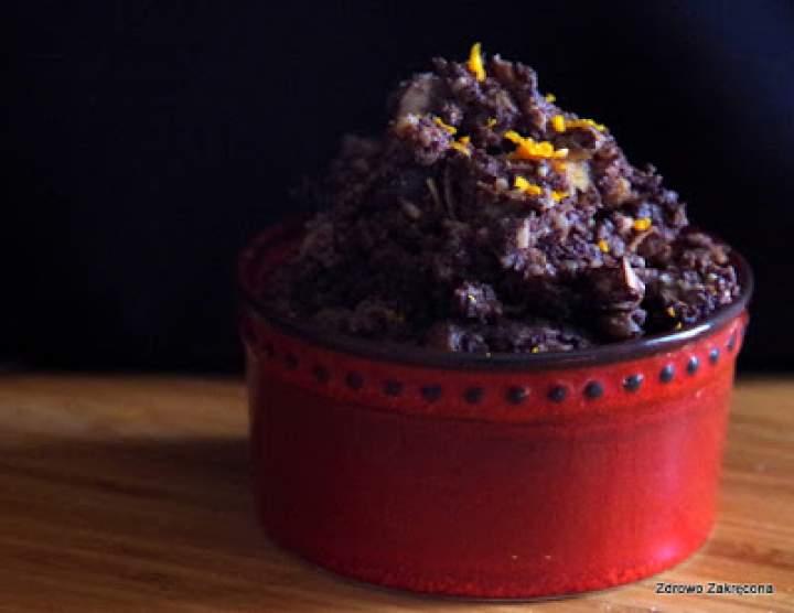 Wyborna kutia z kaszą jaglaną i czekoladą