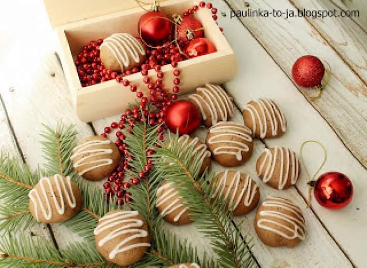 Ciasteczka korzenne z miętą