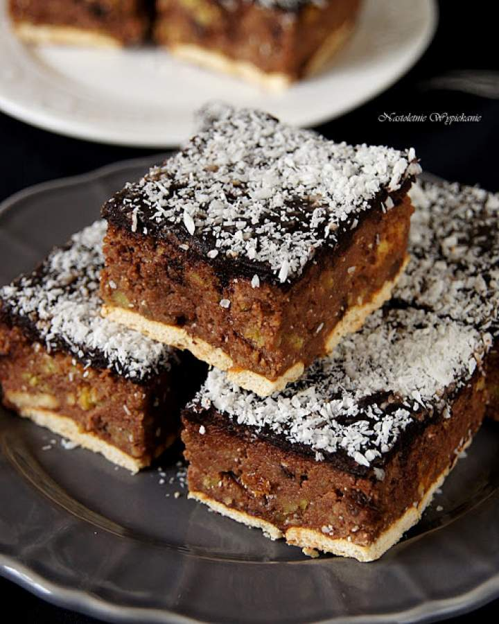 Ciasto z resztek ciast (bajaderkowe)
