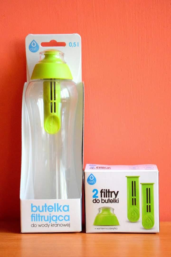 Butelka filtrująca wodę kranową Dafi :)