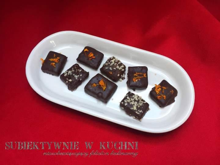 Domowe czekoladki z marcepanem
