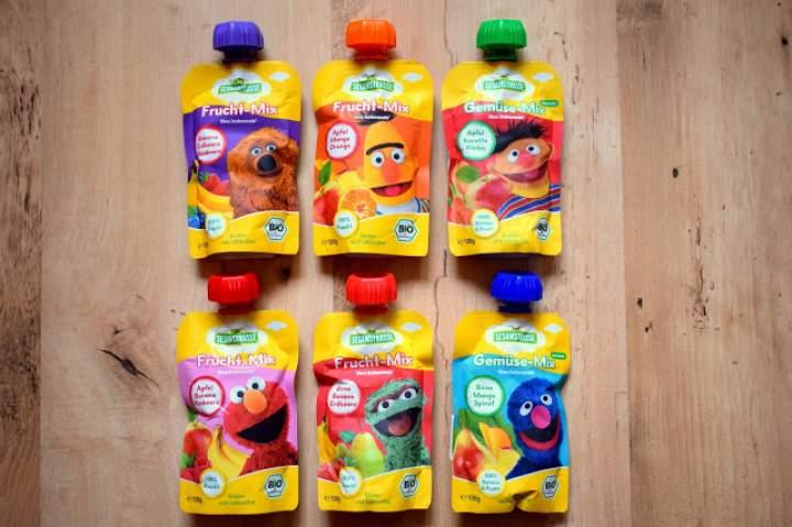 Ekologiczne musy owocowe dla dzieci :)