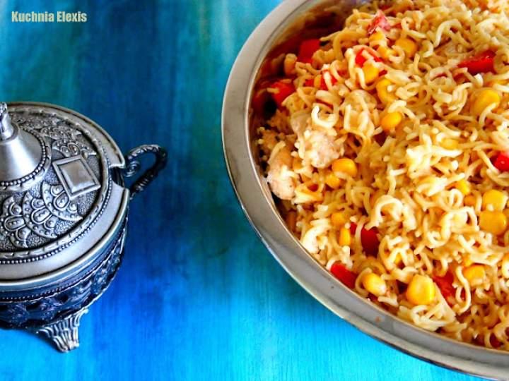 Sałatka z zupek chińskich (filmik)