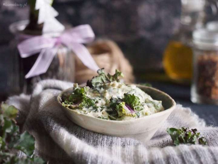 Kalerosse™ w śmietance z parmezanem / Creamed parmesan kalettes