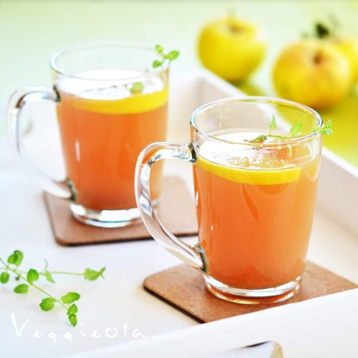 Gorący poncz jabłkowy