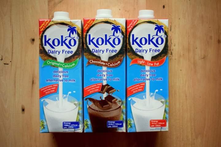 Kokosowe mleka roślinne :)