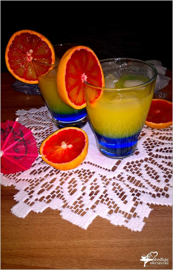 Drink blue orange (bezalkoholowy)