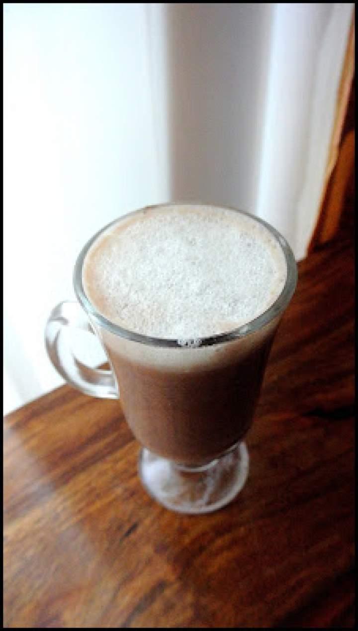 Kakao na orzechowym mleku macadamia