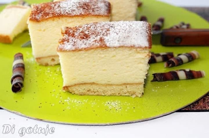 Pianka jogurtowa / Sernik z jogurtów greckich na biszkoptach (pieczony)
