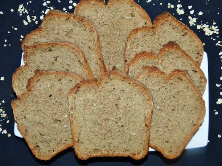 Pyszny chleb pszenno – orkiszowy na drożdżach