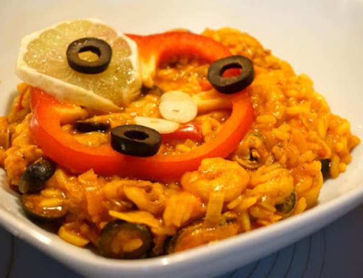 Paella pomidorowa