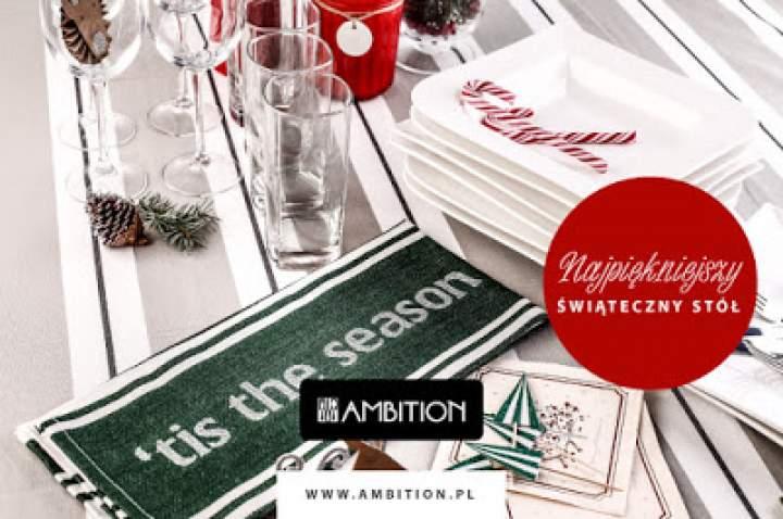Najpiękniejszy świąteczny stół – porcelanowe inspiracje marki AMBITION