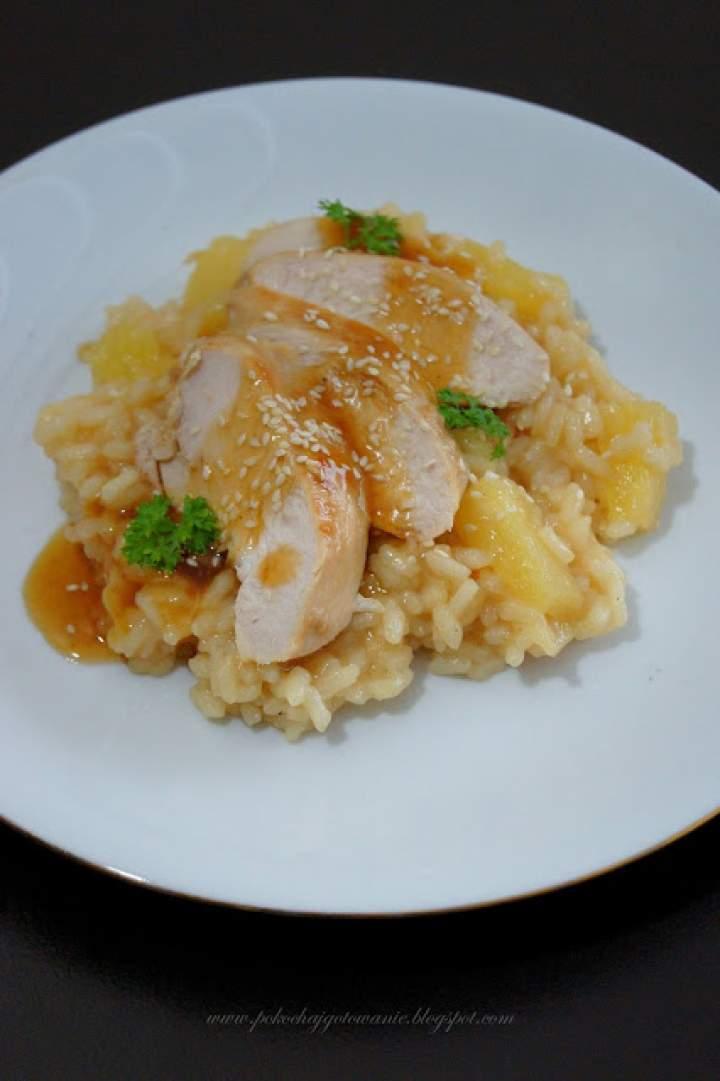 Kurczak z orientalnym ryżem