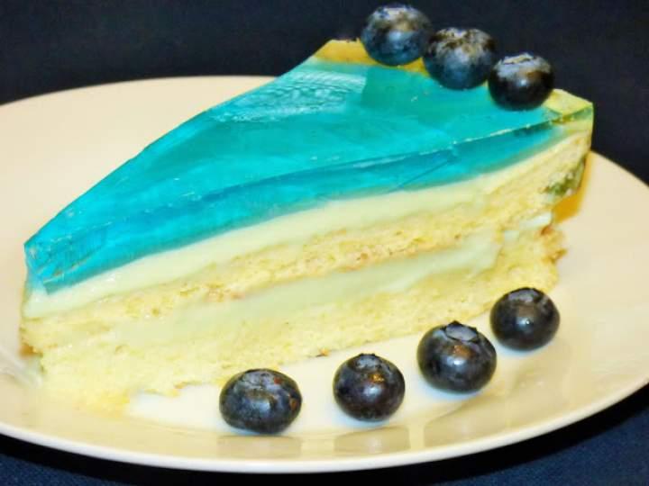 """Ciasto ,,Błękitna laguna"""""""
