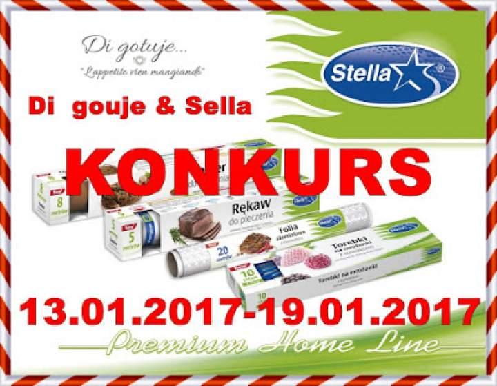 KONKURS – Di gotuje & Stella – do wygrania 3 zestawy produktów!