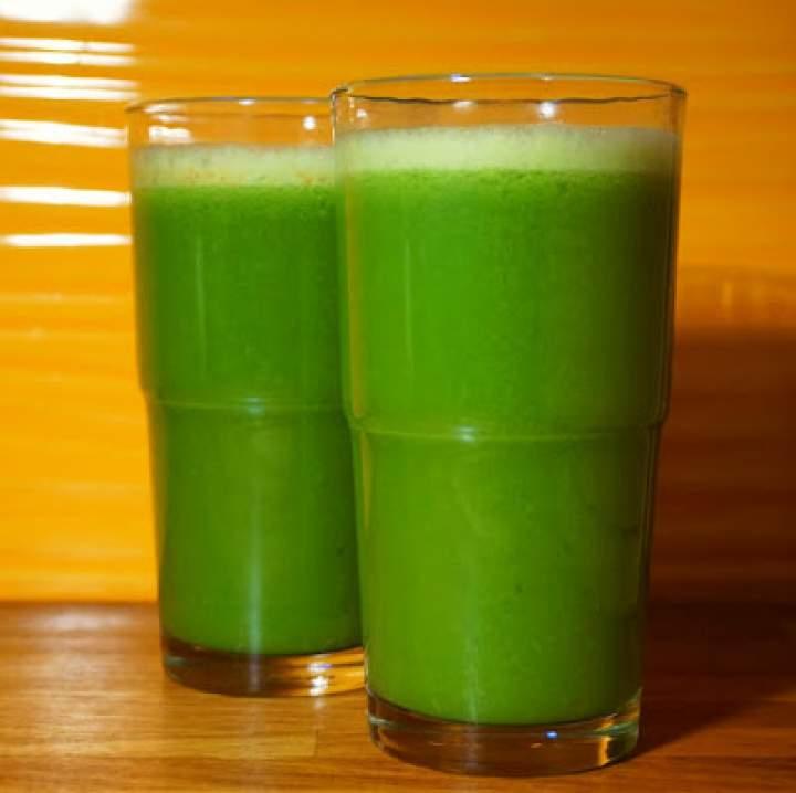 Zielona energia: Pasternak i liście kalarepy