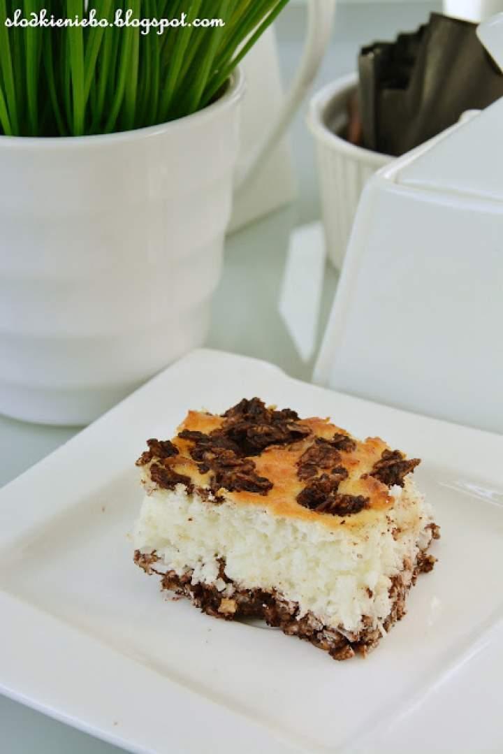 Dietetyczne ciasto a'la Bounty