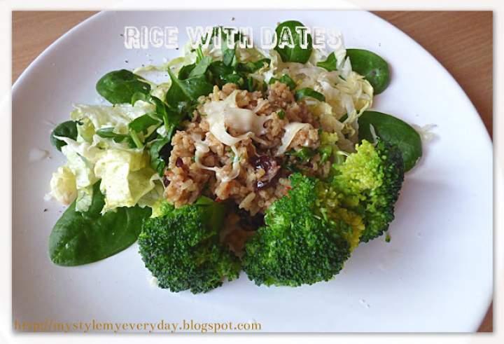Ryż z daktylami – Rice With Dates