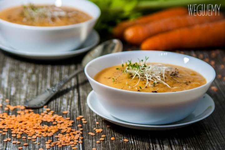 Zupa marchewkowo-soczewicowa