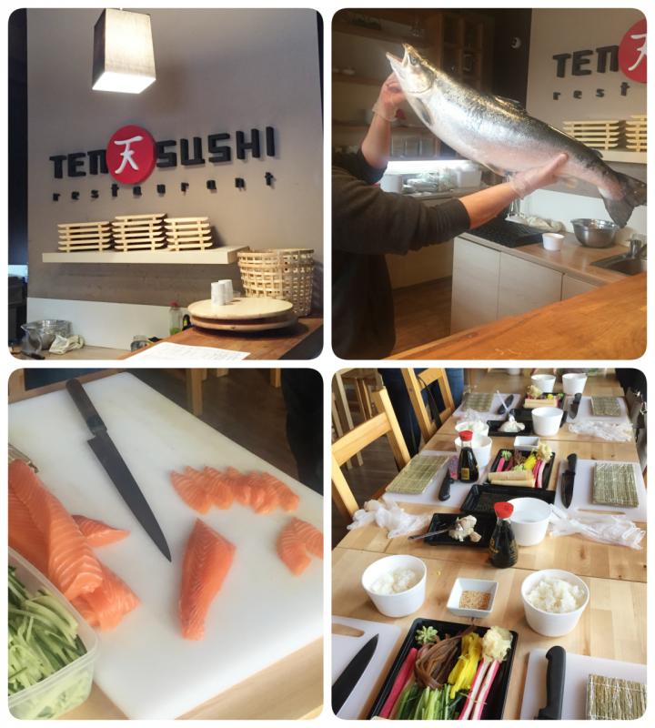 Warsztaty z sushi w TenSushi