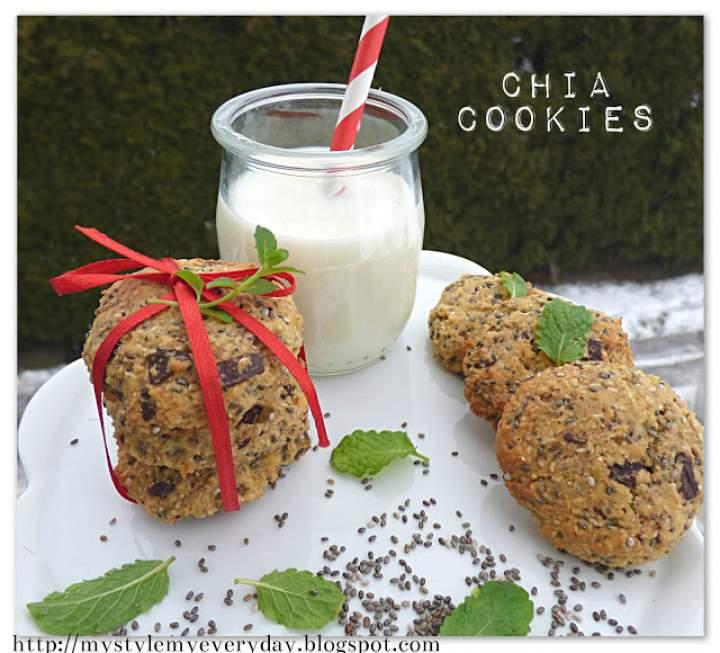 Ciasteczka z chia – Chia cookies