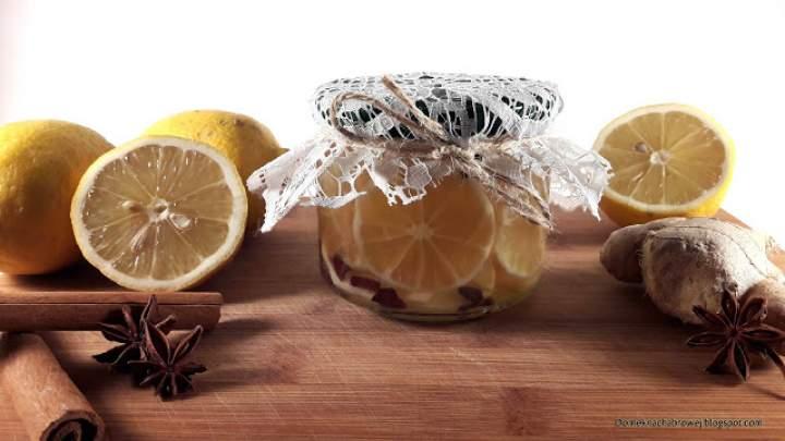 Korzenne cytrynki do herbaty