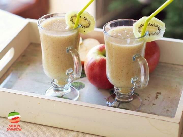Smoothie z kiwi i jabłka