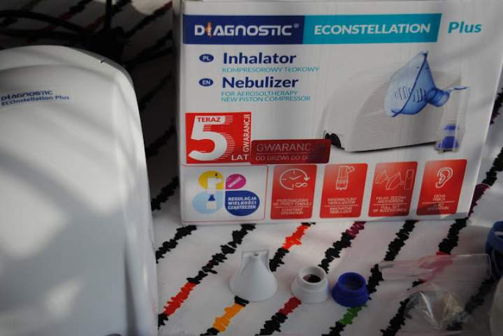 Inhalator i termometr – mój niezbędnik podczas chorowania dzieci