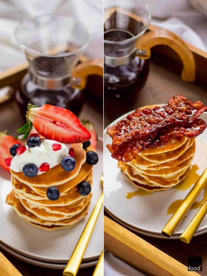 Śniadanie Walentynkowe: Bezglutenowe pancakes dla Niej i dla Niego