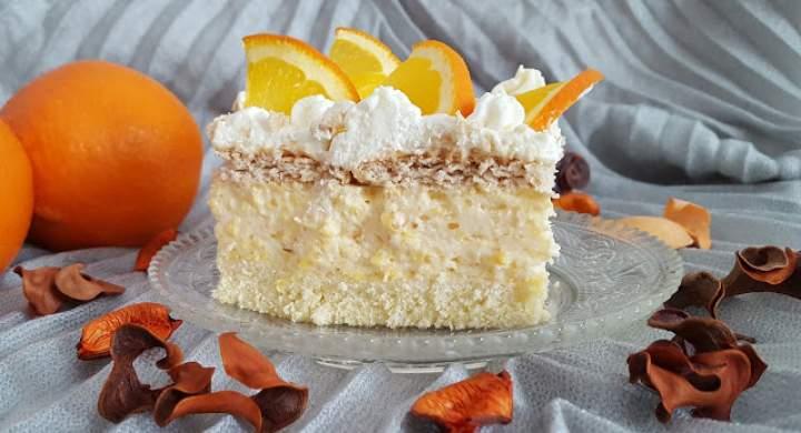Ciasto Pomarańczowiec