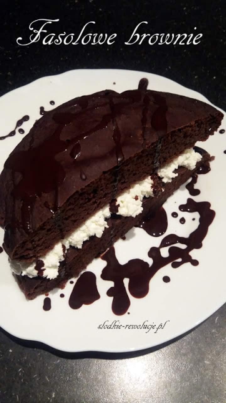 Fasolowe brownie (z odżywką)