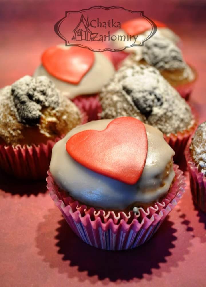 Walentynkowe muffinki cytrynowo-kokosowe