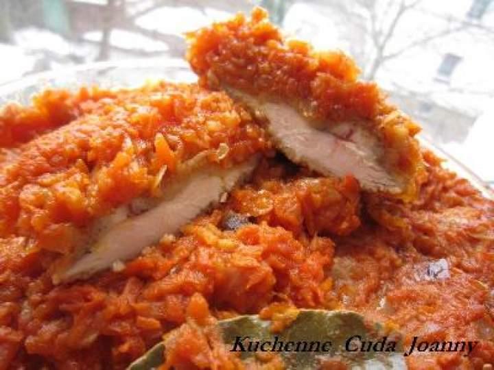 Pierś Kurczaka ala Ryba  po Grecku