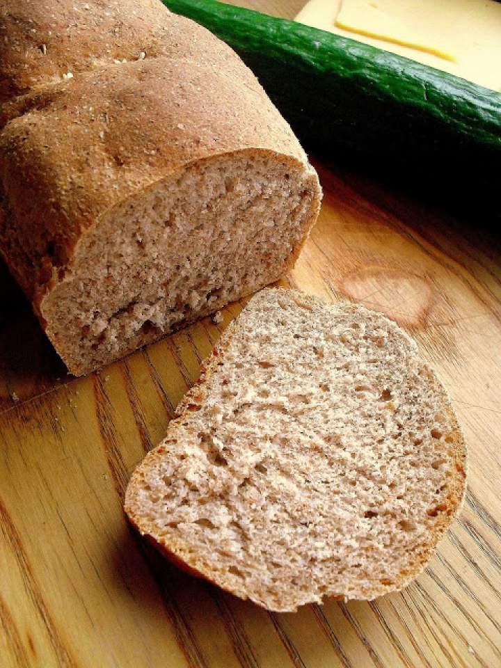 Prosty chleb razowy / Simple Whole Wheat Bread