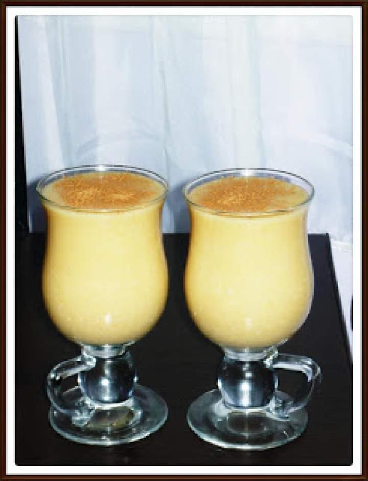 Deser ryżowo – pomarańczowy