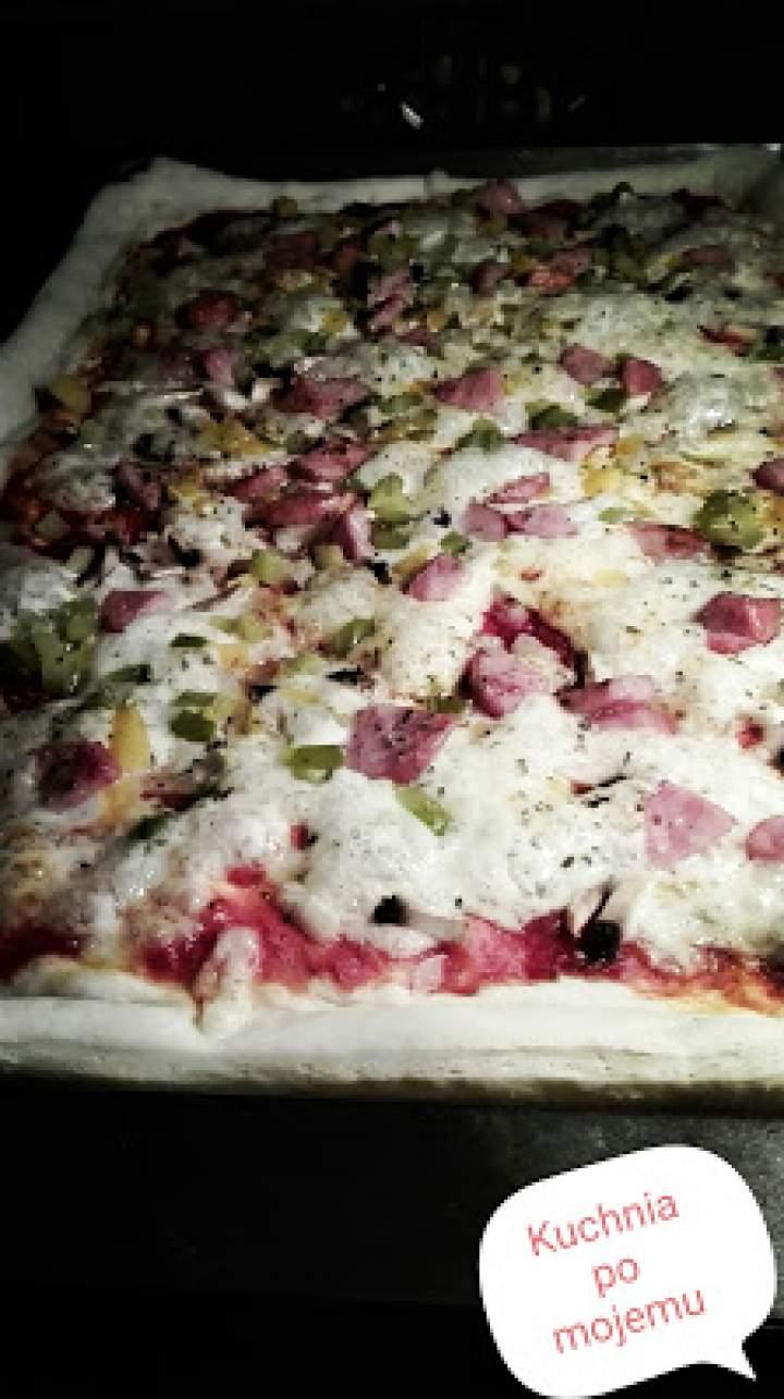 Pizza domowa na ostatki. W końcu powróciła do Kuchni po mojemu ….