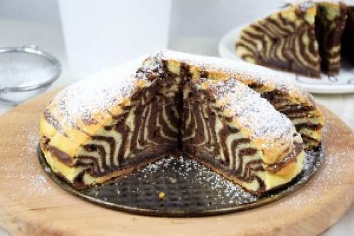 Ciasto zebra